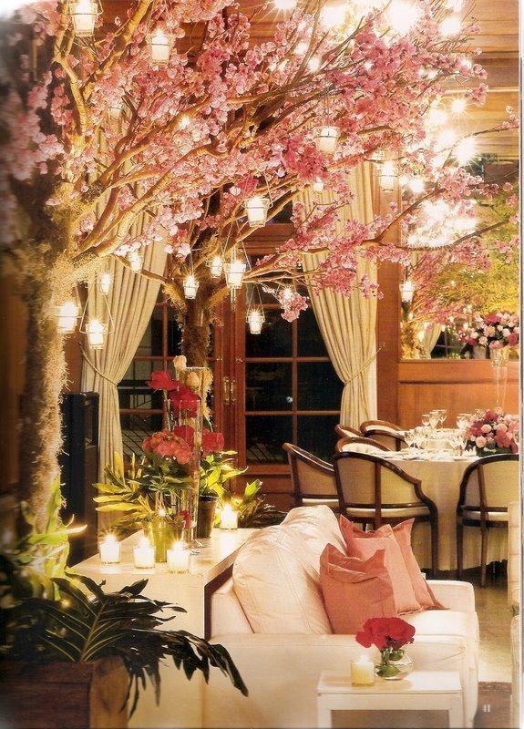 Decoração de Casamento com Velas  Peguei o Bouquet
