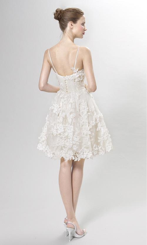 Vestido de noiva para dancar na festa